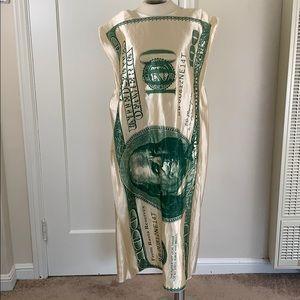 $100 bill Benjamin Franklin Halloween Costume
